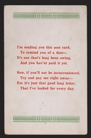 General Greetings - Verse - Used 1914 - Greetings From...