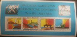 O) 1979 TRINIDAD AND TOBAGO, OIL, GEOTHERMAL EXPLORATION, HIDROGEOLOGY. PETROLEUM EXPLORATION, GEOLOGICAL CONGRESS, MNH - Trinité & Tobago (1962-...)