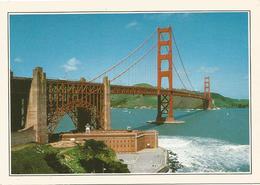 V2896 Usa - San Francisco - Il Golden Gate - Cartolina Con Legenda Descrittiva / Non Viaggiata - America
