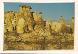 V2898 Turchia - Cappadocia - I Camini Delle Fate - Cartolina Con Legenda Descrittiva / Non Viaggiata - Europa