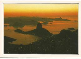 V2899 Brasile - Rio De Janeiro - La Baia Di Guanabara - Cartolina Con Legenda Descrittiva / Non Viaggiata - America