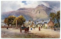 ARTIST : WIMBUSH - KINLOCH RANNOCH & CRAIG VAR (TUCK'S OILETTE) - Wimbush