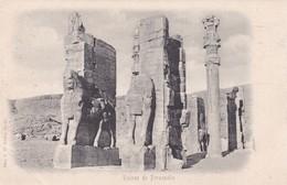 RUINES DES PERSEPOLIS. 22755. CIRCA 1900s. NON CIRCULEE. TBE- BLEUP - Iran