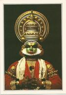 V2900 India - Kerala - Un Attore Del Teatro Kathakali - Cartolina Con Legenda Descrittiva / Non Viaggiata - Asia