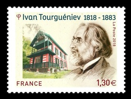 France 2018 Mih. 7216 Writer Ivan Turgenev MNH ** - Ungebraucht