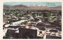 A VIEW OF TEHERAN. TAHRIR IRAN CO. CIRCULEE CIRCA 1960s A TURKEY. STAMP A PAIR- BLEUP - Iran