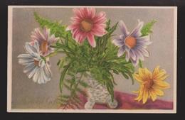 General Greetings - Flowers In Vase Dutch Card - Used 1951 - Greetings From...
