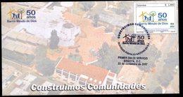 COLOMBIA- KOLUMBIEN- 2007 FDC/SPD. BARRIO MINUTO DE DIOS-BOGOTA - Colombie