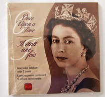 2002 Canada Once Upon A Time Keepsake Booklet 5 Coins 50 Cents Golden Jubilee Queen Elizabeth Royal Canadian Mint - Canada