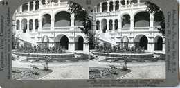 Sudan ~ KHARTOUM ~ Sirdar's Palace & Shoebill Stork Stereoview 33750 801 - Photos Stéréoscopiques