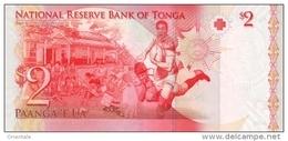 TONGA P. 38 2 P 2011 UNC - Tonga