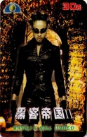 TARJETA TELEFONICA DE CHINA. CINE, MATRIX RELOADED (227) - Cinéma