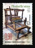 Bosnia And Herzegovina (Croatian) 2018 Mih. 492 Ethnological Treasures. The Loom (self-adhesive) MNH ** - Bosnia Herzegovina