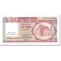 Billet, Bangladesh, 10 Taka, 1996, Undated (1996), KM:26b, SPL+ - Bangladesh