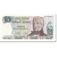 Billet, Argentine, 5 Pesos Argentinos, 1984, Undated (1984), KM:312a, SUP+ - Argentine