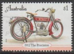 AUSTRALIA-USED 2018 $1.00 Vintage Motor Cycles - 1912 Precision - Usati
