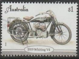 AUSTRALIA-USED 2018 $1.00 Vintage Motor Cycles - 1919 Whiting V4 - Usati
