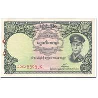 Billet, Birmanie, 1 Kyat, 1958, Undated (1958), KM:46a, TB+ - Myanmar