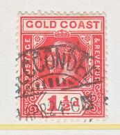 GOLD  COAST  85   (o)   Wmk. 4 - Gold Coast (...-1957)