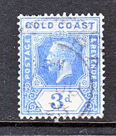 GOLD  COAST  88  Die  II   (o)   Wmk. 4 - Gold Coast (...-1957)
