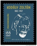 Hungary 2017 Mih. 5882 Music. Composer Zoltan Kodaly Memorial Year MNH ** - Unused Stamps