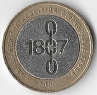 United Kingdom 2007 £2 Emancipation Commemorative (B) - 1971-… : Monete Decimali