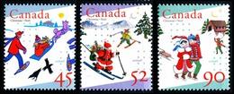 Canada (Scott No.1627-29  - Noël / 1996 / Christmas) [**] - 1952-.... Règne D'Elizabeth II