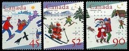Canada (Scott No.1627i-29i  - Noël / 1996 / Christmas) [**] - 1952-.... Règne D'Elizabeth II