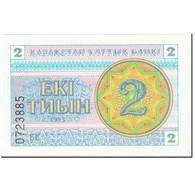 Billet, Kazakhstan, 2 Tyin, 1993, Undated (1993), KM:2c, NEUF - Kazakhstan