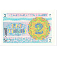 Billet, Kazakhstan, 2 Tyin, 1993, Undated (1993), KM:2c, NEUF - Kazachstan