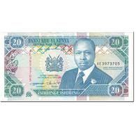 Billet, Kenya, 20 Shillings, 1993, 1993-09-14, KM:31a, SUP - Kenya