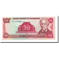 Billet, Nicaragua, 50 Cordobas, 1985, KM:153, NEUF - Nicaragua
