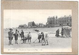 CAYEUX SUR MER - 80 - Une Partie De Croquet Sur La Plage - DELC5** - - Cayeux Sur Mer