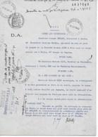 Bail Pour Utilisation Des Marques Pharmaceutiques CASCARA MIDY Et COCAÏNE MIDY 1937 à 1946 - Revenue Stamps