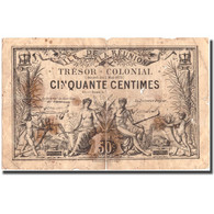 Billet, Réunion, 50 Centimes, 1879, 1879-05-02, TB - Reunion