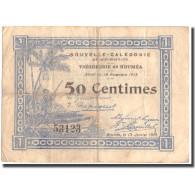 Billet, Nouvelle-Calédonie, 0.50 Franc, 1918, 1918-11-14, KM:30, B+ - Nouméa (New Caledonia 1873-1985)