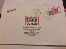 CÔTÉ D IVOIRE LETTRE ABIDJAN 1992 POUR FRANCE CASTANET - Ivory Coast (1960-...)