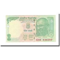 Billet, Inde, 5 Rupees, 2009, KM:88Aa, NEUF - Inde