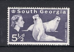 SOUTH GEORGIA Yt. 15 MNH** 1963-1969 - South Georgia