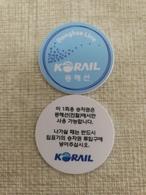 Korean KORAIL Donghae Line Token - Transportation Tickets