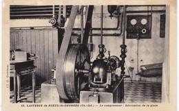 17 Charente Maritime -  Laiterie De NIEUL-SAINT-GEORGES - Le Compresseur - Fabrication De La Glace - Industry