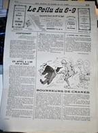 Rare Journal De Tranchées Le Poilu Du 6-9  Numéro 12 - 1914-18