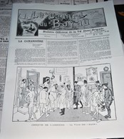 Rare Journal De Tranchées Le Canard Du Boyau Novembre Décembre 1917 - 1914-18