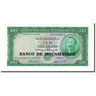 Billet, Mozambique, 100 Escudos, 1961-03-27, KM:117a, NEUF - Mozambique