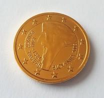 SLOVENIE 2008 - 2 EUROS COMMEMORATIVE- PRIMOZ TRUBAR - PLAQUE OR - Slovenia