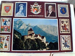 LIECHTENSTEIN VADUZ SCHLOSS CASTELLO  CASTLE STAMP TIMBRE SELO 30 BALZERS ST NIKOLAUS  GX5741 - Liechtenstein