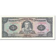 Billet, Équateur, 5 Sucres, 1979, 1979-07-25, KM:113c, NEUF - Equateur