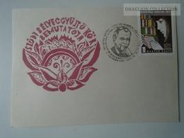 D161766   Commemorative - Hungary - - SZŐD  Bélyeggyűjtő Kör - Váci Mihály Veresegyház 1974 - Feuillets Souvenir