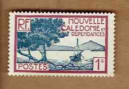 Nouvelle-Calédonie. (Y&T) 1928/38 - N°139   * BAIE DE LA POINTE DES PALETUVIERS *   1c - Neuf - Unused Stamps