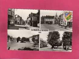 18 Cher, St-Martin-d'Auxigny, Multivues, Voiture, 1959, (Combier) - France